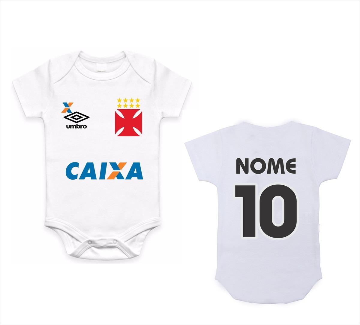 0699bd1abe body infantil roupa bebê bori nenê futebol time vasco. Carregando zoom.