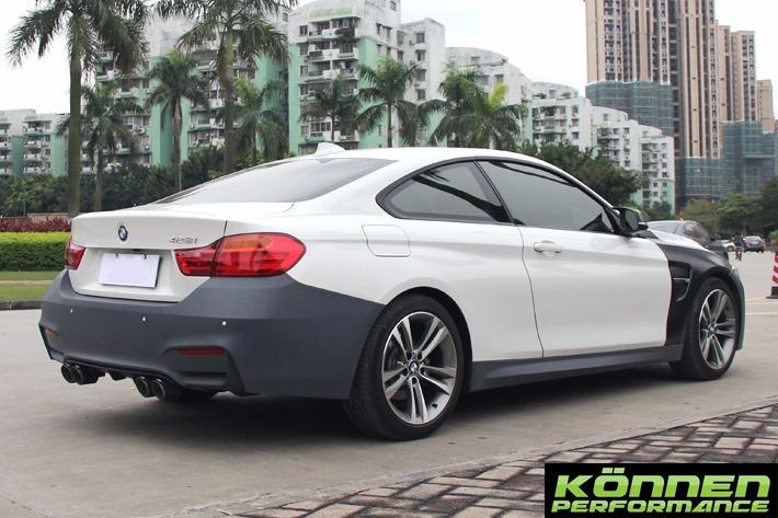 BMW 428I Coupe >> Body Kit Bmw Serie 4 M4 14-18 F32 420i 428i 435i 440i ...