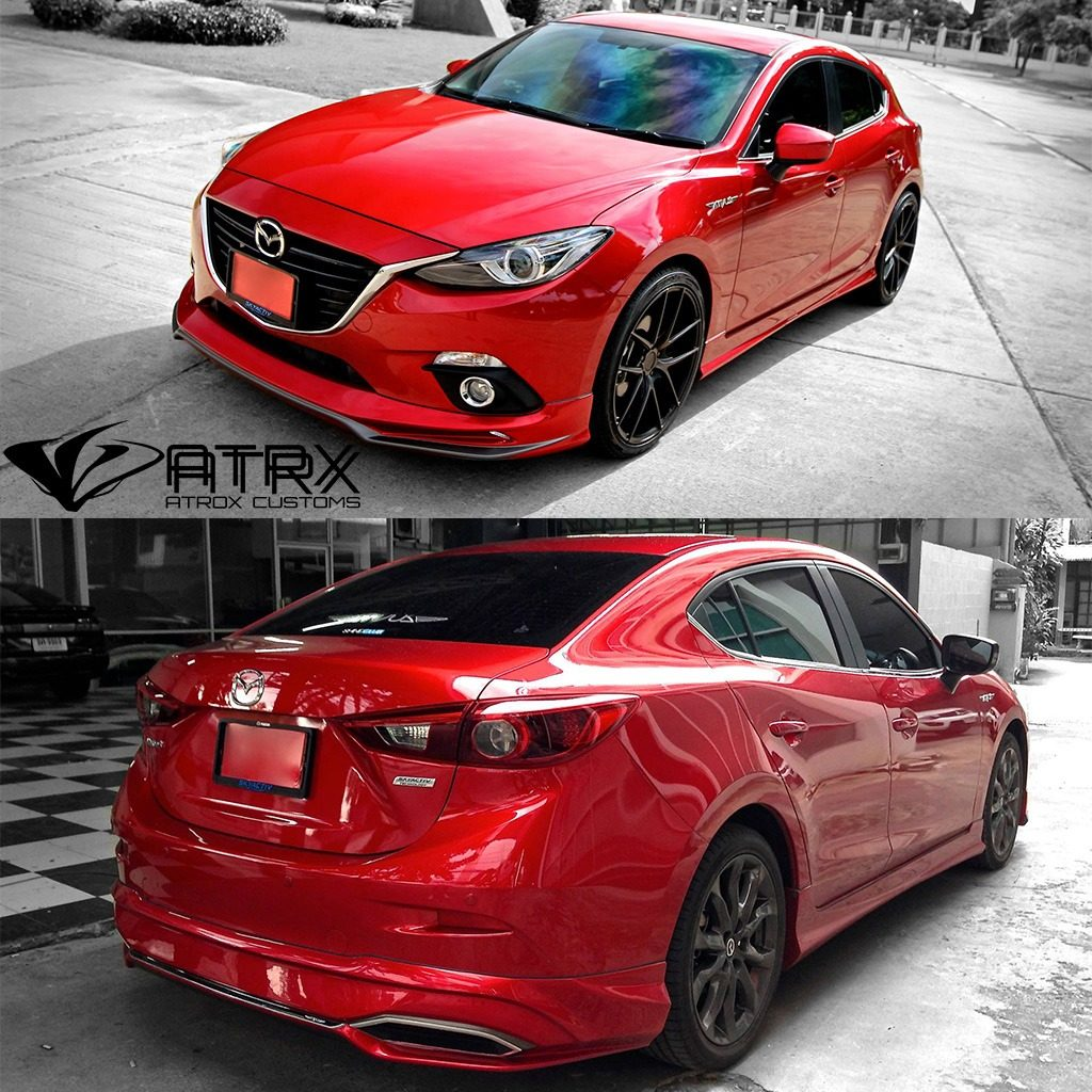 Mazda Speed 3 >> Body Kit Lexus Style Drl Mazda 3 Sedán 2014 2015 2016 ...