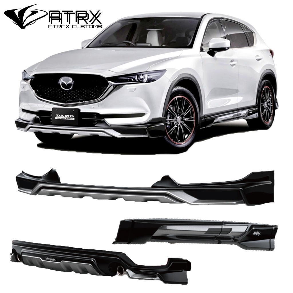 body kit lip bumper estribos difusor mazda cx5 2018 18 en mercado libre. Black Bedroom Furniture Sets. Home Design Ideas