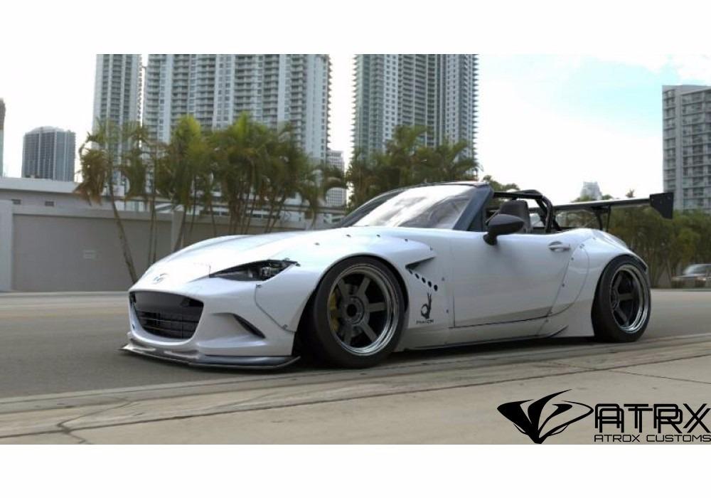 body kit rocketbunny cantoneras mazda mx5 roadster 2016. Black Bedroom Furniture Sets. Home Design Ideas