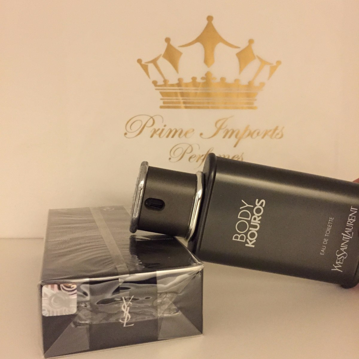 Perfume Kouros Bom Yahoo: Yves Saint Laurent- Masculino- Original