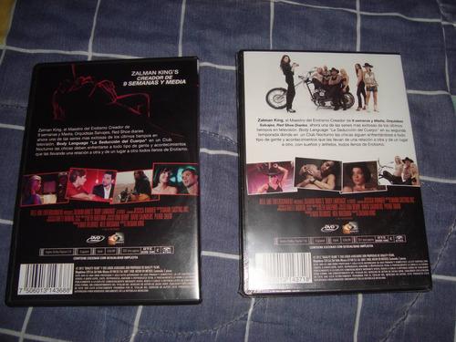 body language temporada 1 y 2 sin censura serie tv en dvd