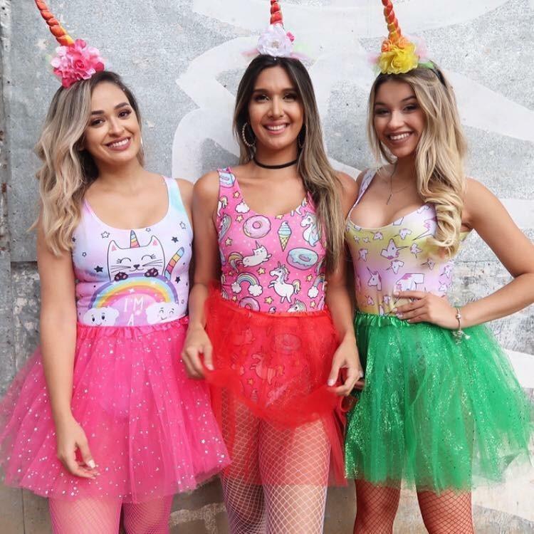 Resultado de imagem para fantasia unicornio carnaval
