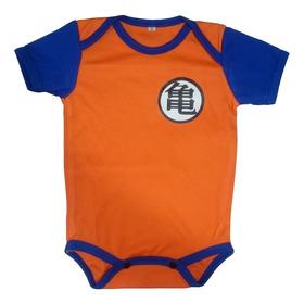 Body Mameluco Niños Bebé Goku Dragon Ball Z Nighty-night
