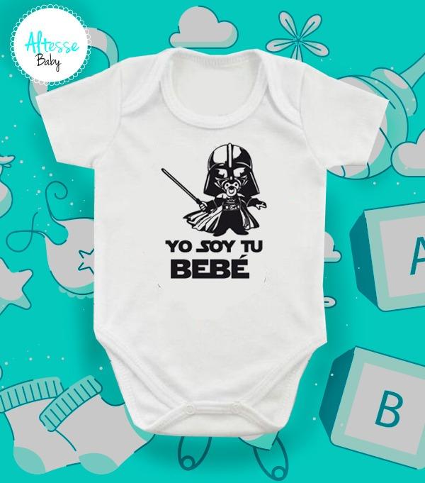 Body Mameluco Para Bebe Personalizado Star Wars -   29.900 en ... 4337282f72f4
