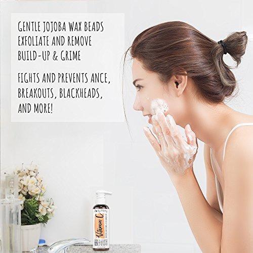 body merry vitamina c: limpiador exfoliante: lavado diario a