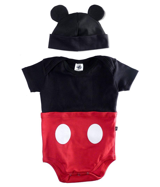 188ddeaa60b74 body mickey mouse com gorro fantasia disney roupas bebe. Carregando zoom.