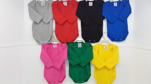 body+mijão roupa bebê kit c/18pçs 100%algodão menino/menina