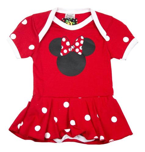 body minnie mouse para mêsversário menina