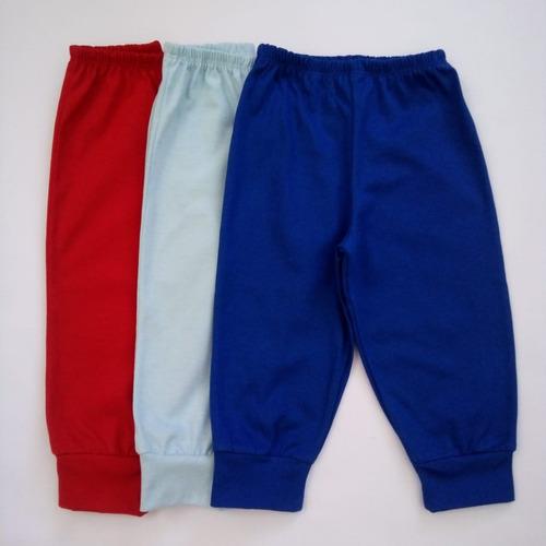 body m/longa+calça infantil/unissex/ kit 10 peças/1 2 3 anos