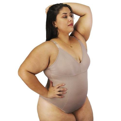 14b7fe4bc Body Modelador Sem Bojo Magic Nayane Rodrigues Plus Size - R  89
