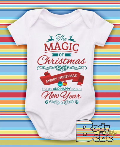 body natal - the magic of christmas - modelo 16