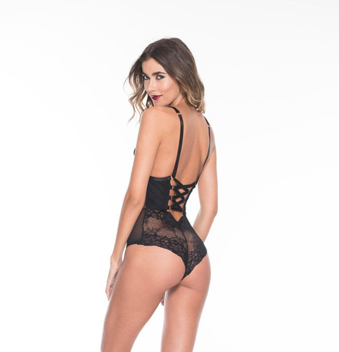 body negro estilo corset