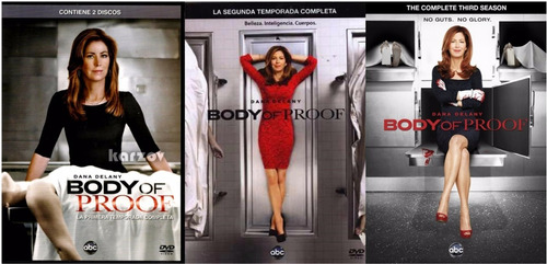body of proof paquete de temporadas 1 2 3 en dvd