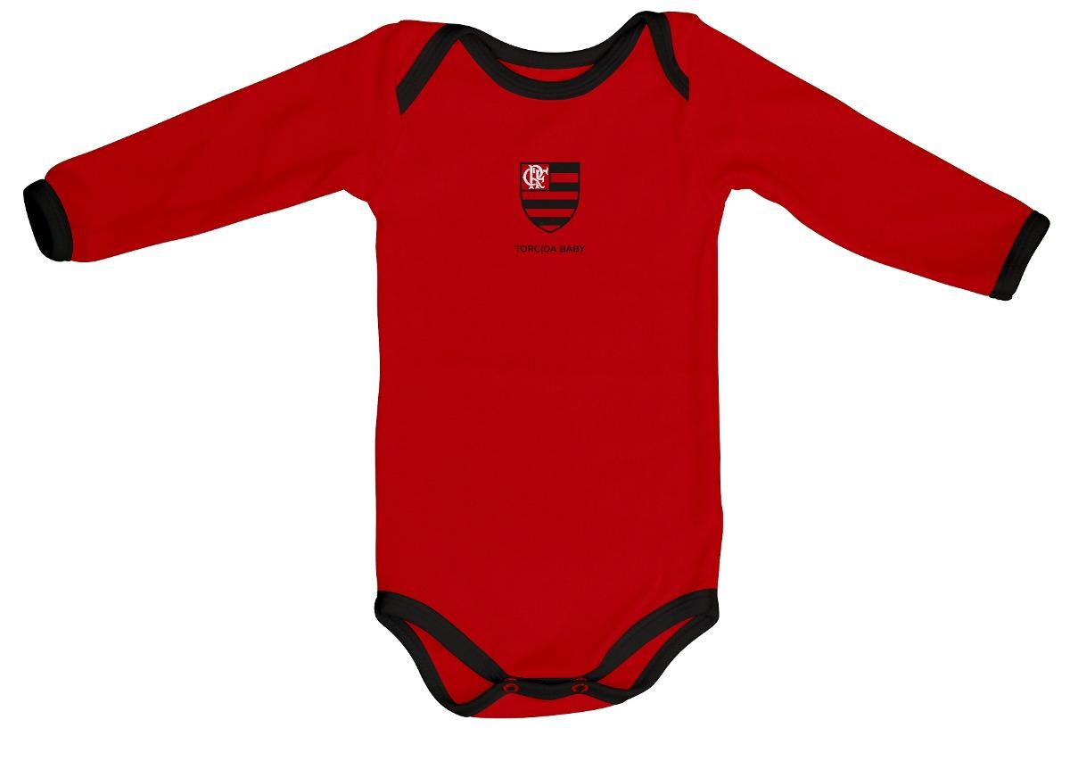 41f8394c17435 body oficial flamengo vermelho manga longa. Carregando zoom.