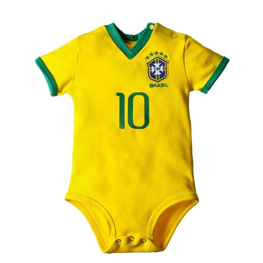 2cfdc31bd8 body oficial seleção brasileira manga curta oficial brand-. Carregando zoom.