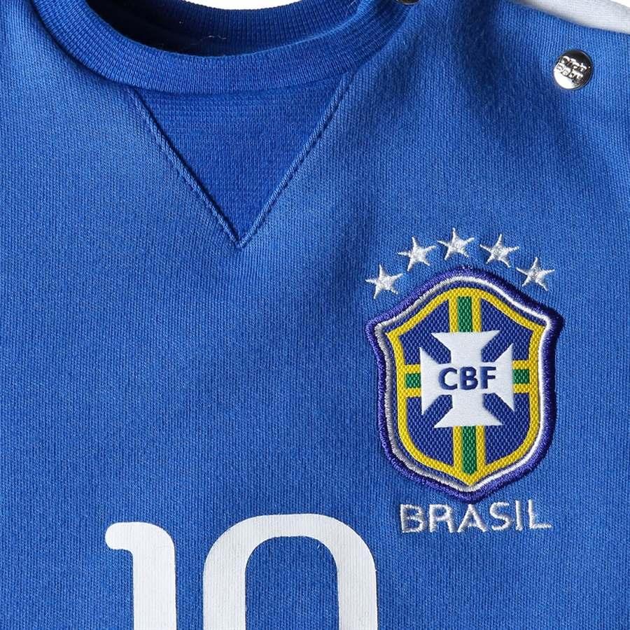 e6a50f6072 body oficial seleção brasileira manga longa oficial brand-. Carregando zoom.