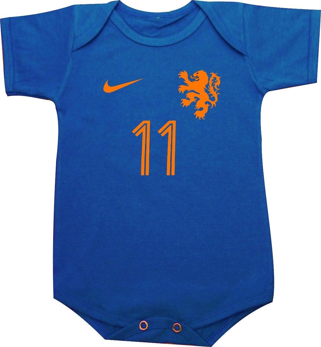 body ou camiseta seleção holandesa holanda robben van persie. Carregando  zoom. b21f69d4de808