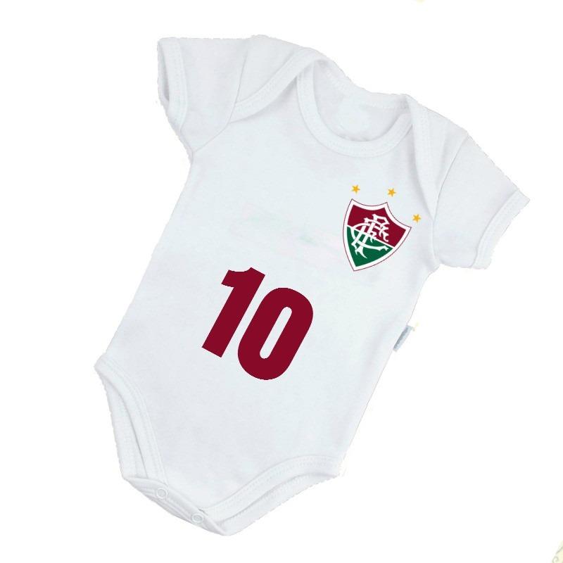 d387cd28c3212 Body Ou Camisetas Times Fluminense Brasileiro - R  72
