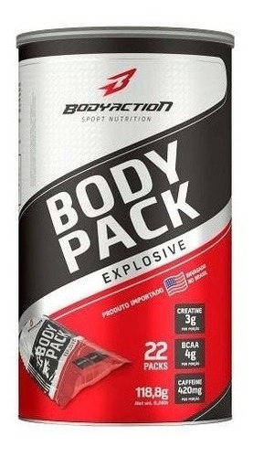 body pack explosive 22 packs - body action