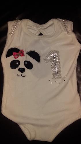body panda niña