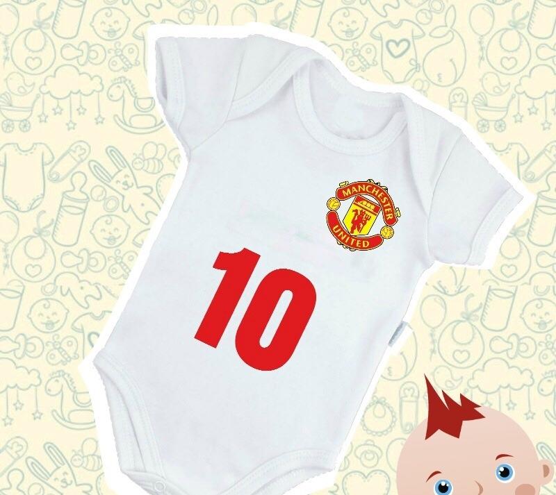 Body Mameluco Manchester United Para Bebe -   59.900 en Mercado Libre 3b0ccb4b2cb
