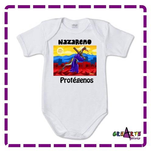 body para bebes jesus de nazareno estampados