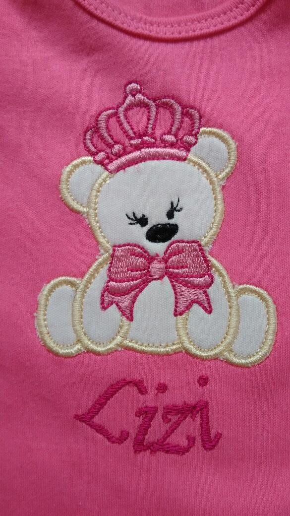 04e0c9327 body personalizado lindo menina roupa de bebê rn- 12 meses. Carregando zoom.