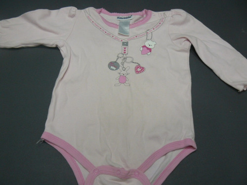 body pijama de niña talla 6-9meses