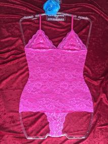 b6efb2c0f Body Rosa Pink Com Tule - Moda Íntima e Lingerie no Mercado Livre Brasil