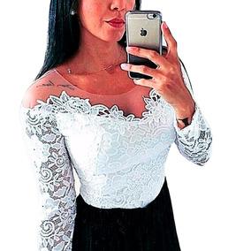 720dc5778 Body Vermelho Feminino Com Tule - Camisetas e Blusas no Mercado Livre Brasil