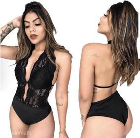 91573330c Body Renda 2018 - Camisetas e Blusas Body Feminino no Mercado Livre ...