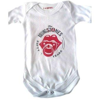 a17cef92d Body Rolling Stones Manga Corta Para Niño a Estampado Baby M ...