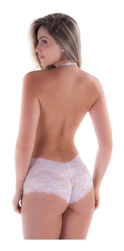 body sensual decotado em renda mirella sexy