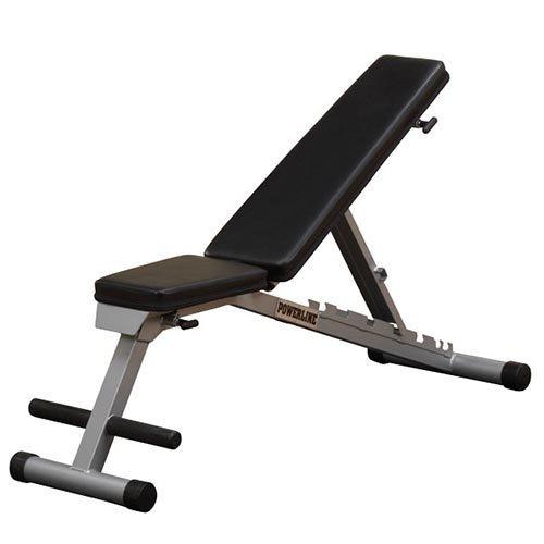 body-solid powerline plana / inclinación ascendente / descen