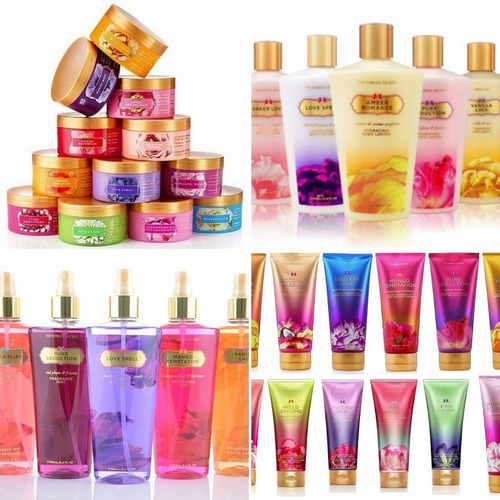 body splash victoria secret,butter, body lotion