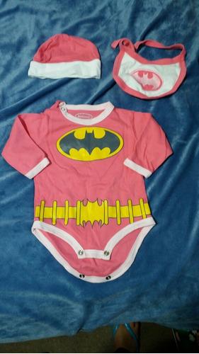 body super heroina para niña  3 meses