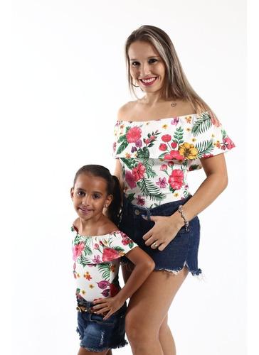 body tal mãe tal filha ciganinha flores
