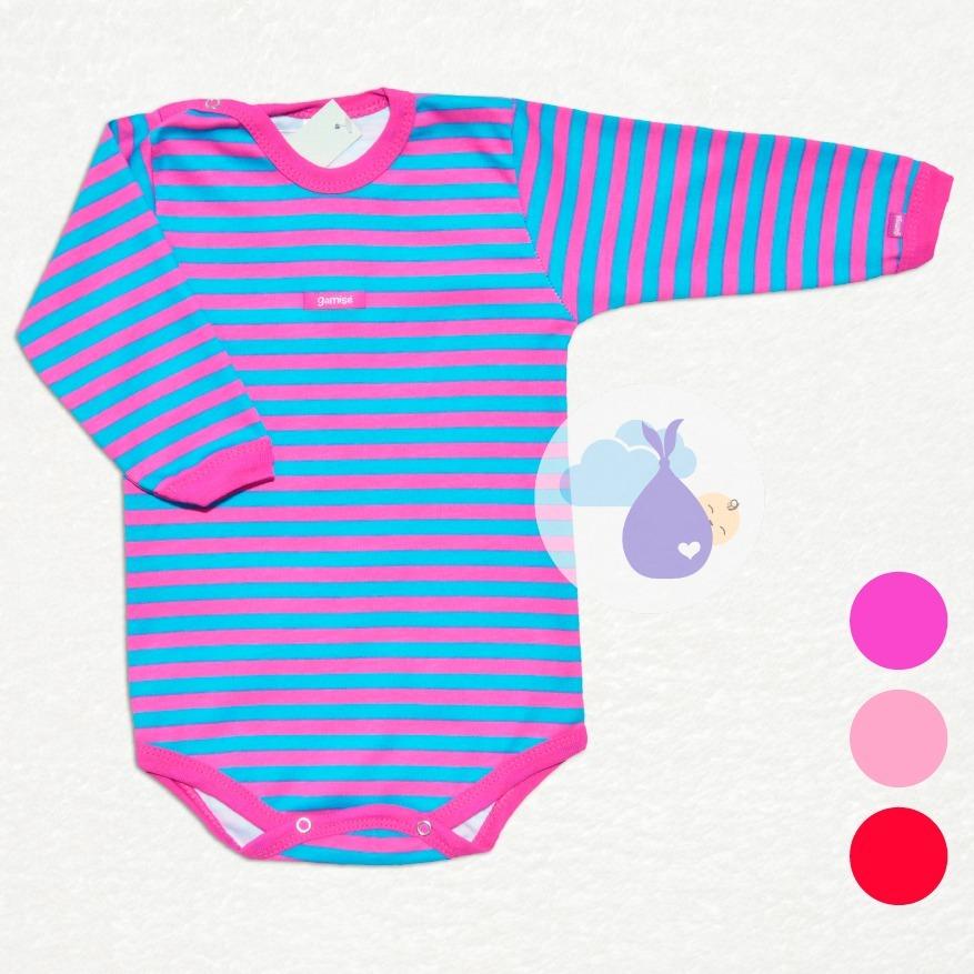 7469727b6 body talles 5 al 7 bebé gamisé nena rayado tienda de ropitas. Cargando zoom.