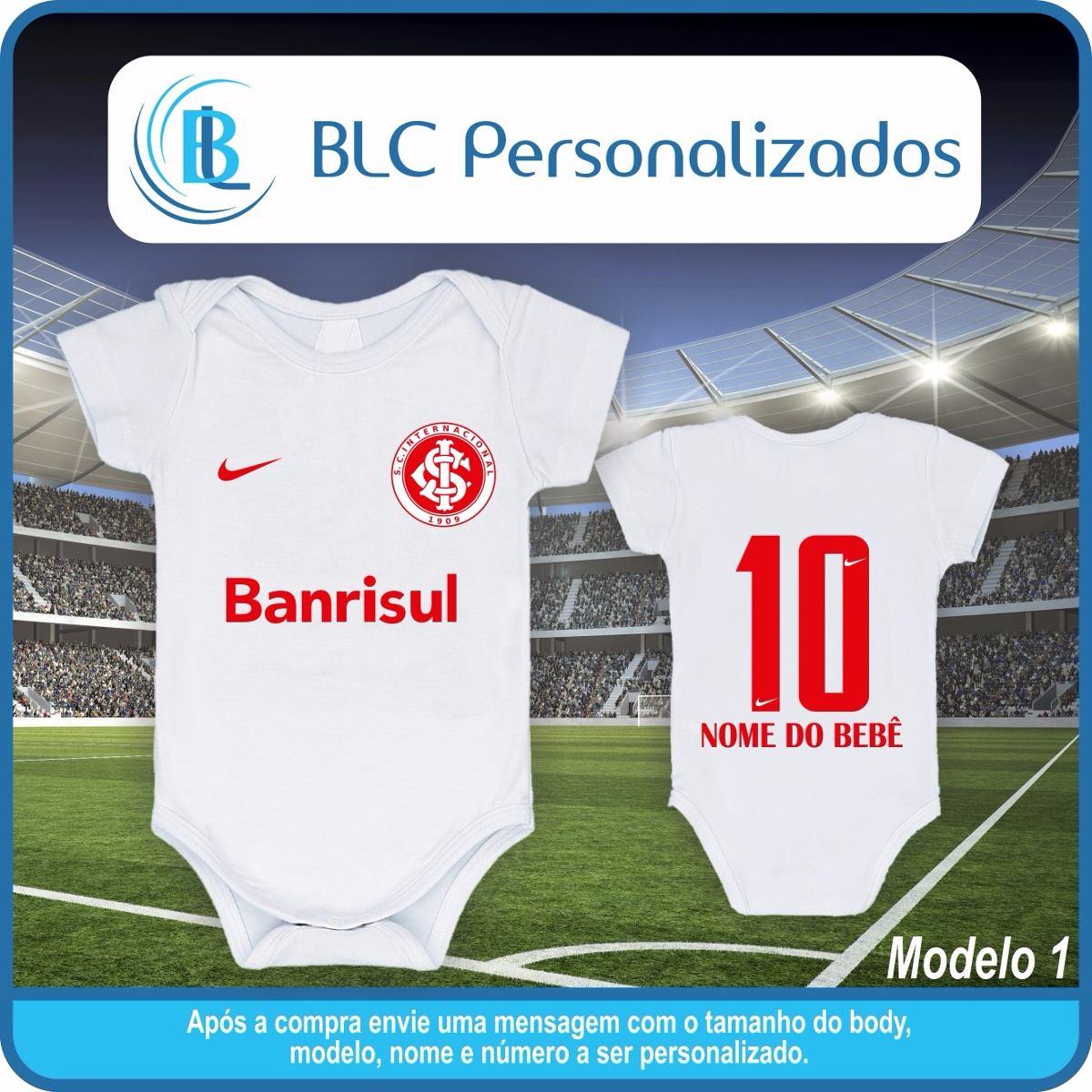 body times de futebol internacional poa bebê personalizado. Carregando zoom. 24c36d1dab899