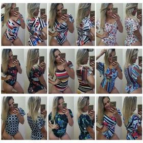 Body Tipo Macacão Detalhado P, M, G, Xg
