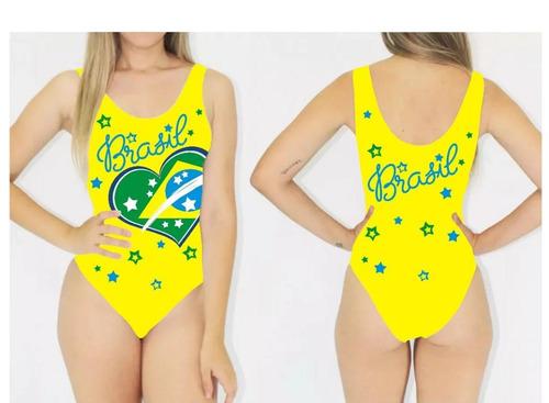 body unicornio brasil copa mundo feminino regata