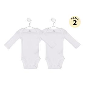 Body Unisex M, Blanco Liso Precious Baby By Carters 526i094