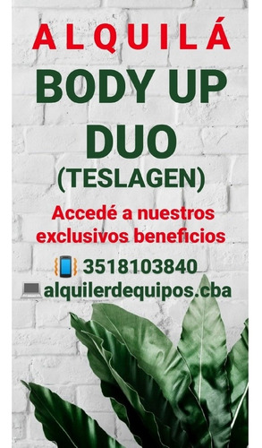 body up duo alquiler