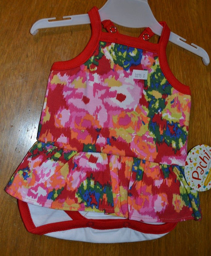 body vestidito pachi 3 colores 0 a 6 meses little treasure