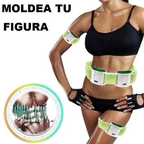 body vibra reduce y tonifica abdomen, brazos piernas glúteos