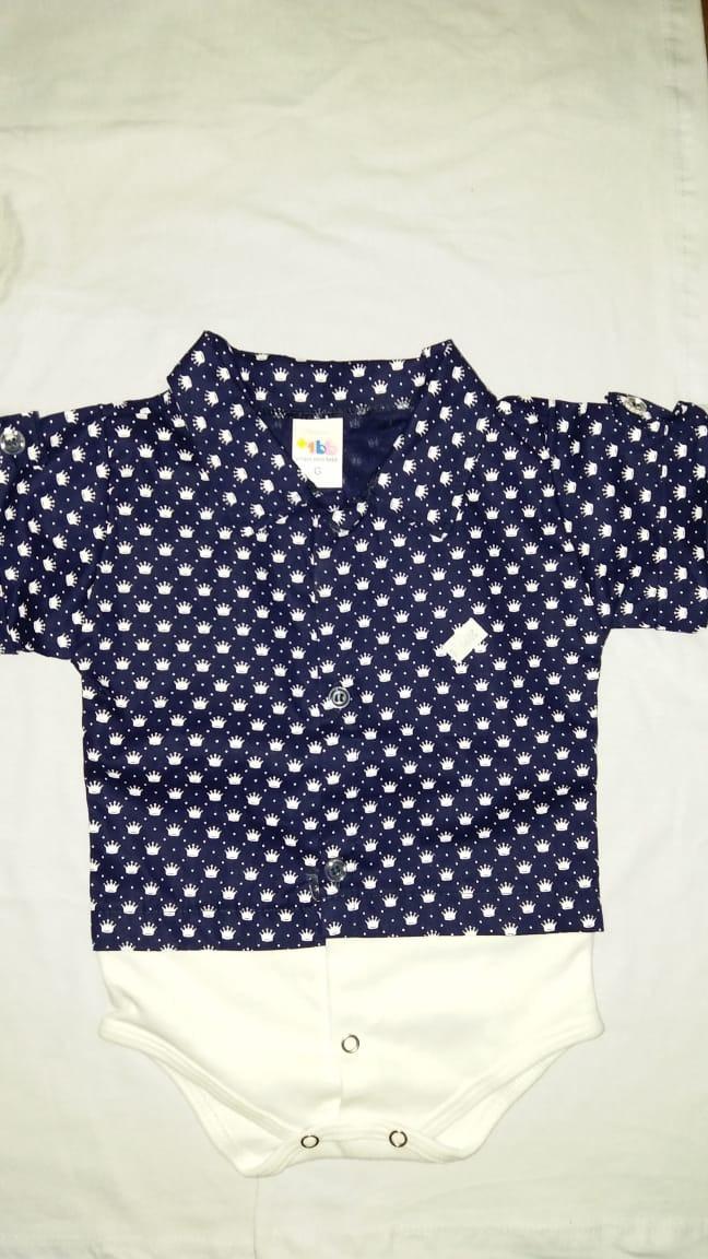 725eb8250 body bodies camisa para bebê - estilo camisa social. Carregando zoom.