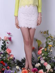 50b8763c6 Falda Tableada Blanca - Vestidos de Mujer 14 en Mercado Libre Argentina