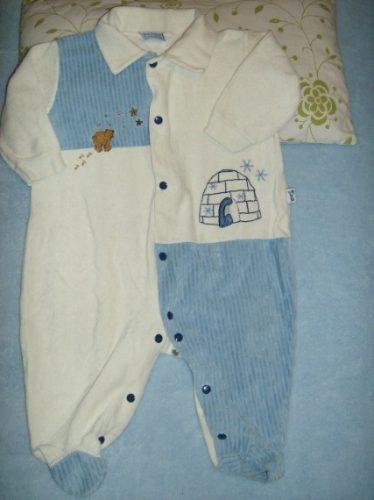 body,enterito en plush para bebé 12 meses